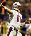 Drew Bledsoe has an astoundingly mediocre career passer rating of 77.1